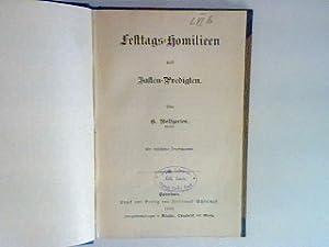Festtags-Homilieen und Fasten-Predigten: Wolfgarten, G.: