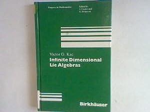 Infinite dimensional Lie algebras: an introduction Progress: Kac, Victor G.: