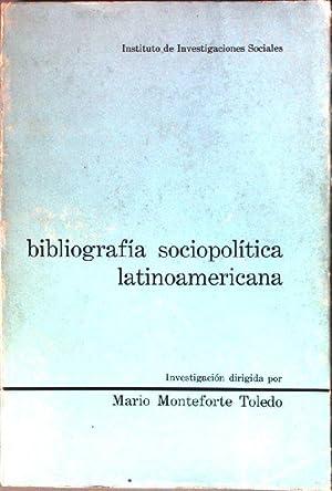 Bibliografia sociopolitica latinoamericana: Toledo, Mario Monteforte: