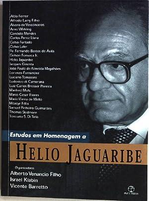 Estudos em Homenagem a Helio Jaguaribe: Filho, Alberto Venancio,