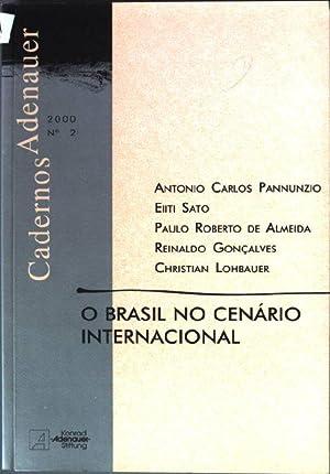 O Brasil no cenario internacional Cuadernos Adenauer;: Pannunzio, Antonio Carlos,