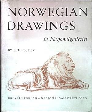 Norwegian Drawings in Nasjonalgalleriet; (grossformatiger Bildband): Ostby, Leif: