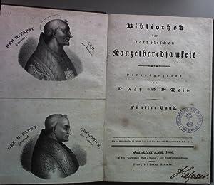 Bibliothek der katholischen Kanzelberedsamkeit (5. und 6.: Räß, Dr. und