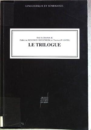 Le trilogue Linguistique et Sémiologie: Kerbrat-Orecchioni, Catherine und