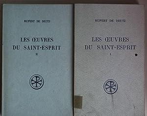 Les oeuvres du Saint-Esprit (2 tomes cpl./: Deutz, Rupert de,