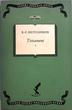Testament I. Scherz Phoenix Books - Volume: Hutchinson, R. C.:
