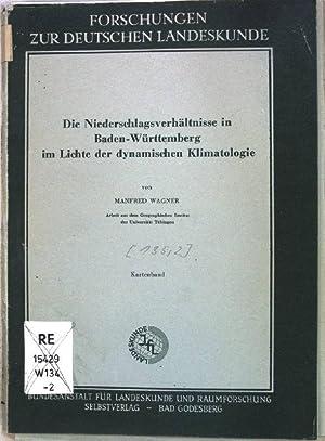 Die Niederschlagsverhältnisse in Baden-Württemberg im Lichte der: Wagner , Manfred: