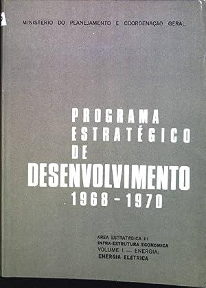 Programa estrategico de desenvolvimento 1968-1970; Area estratégica: Ministério do Planejamento
