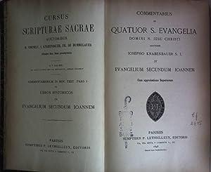 Commentarius in Quatuor S. Evangelia domini n.: Knabenbauer, Josepho: