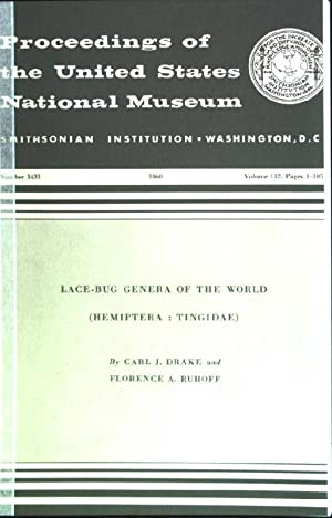 Lace-bug genera of the world (Hemiptera: Tingidae): Drake, Carl J.