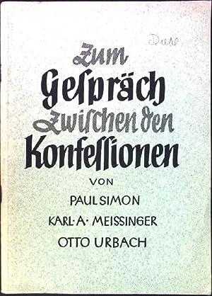 Zum Gespräch zwischen den Religion: Simon, Paul, Karl