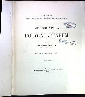 Monographia Polygalacearum; Mémoires de la Société de Physique et d'...
