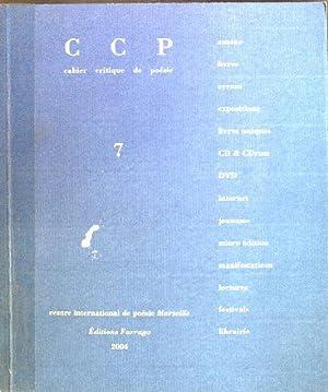 Revue cahier critique de poesie; No. 7: Boyer, Jean-Pierre, Emmanuel