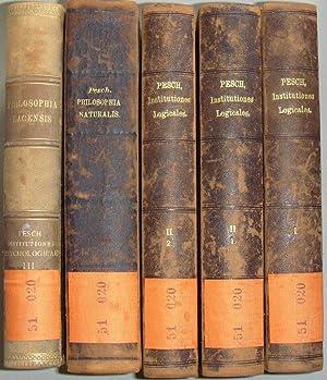 Philosophia Lacensis sive series institutionum, Philosophiae Scholasticae: Pesch, Tilmann: