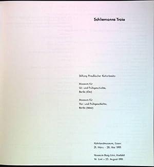 Schliemanns Troia: Ruhrlandmuseum, Essen, 21. März -: Cobet, Justus [Hrsg.]:
