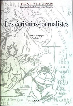 Les écrivains-journalistes Textyles No. 39: Aron, Paul: