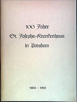 Nur eins ist notwendig: 100 Jahre St.Josephs-Krankenhaus in Potsdam (1862-1962): Allendorff, ...