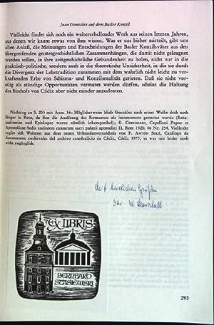 Schlesier auf dem Konzil von Basel (SIGNIERTES: Marschall, Werner: