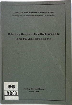 Die englischen Freiheitsrechte des 17. Jahrhunderts: Petition: Keller, Ernst: