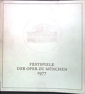 Münchner Festspiele 1977, 10. Juli bis 3.