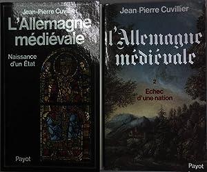 L' Allemagne medievale (2 tomes cpl./ 2: Cuvillier, Jean-Pierre: