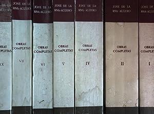Ombras completas (CONVOLUTE de 7 tomos/ KONVOLUT: Riva-Agüero, J. de
