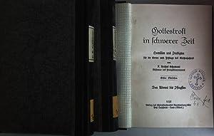 Gottestrost in schwerer Zeit (3 Bände KOMPLETT) - Bd. 1: Von Advent bis Pfingsten/ Bd. 2: Von ...