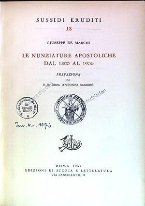 Le nunziature apostoliche dal 1800 al 1956: de Marchi, Giuseppe: