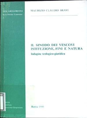 Il sinodo dei Vescovi istituzione, fini e: Bravi, Maurizio Claudio: