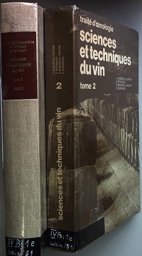 Sciences et techniques du vin (2 tomes/ 2 Bände) - Tome 1: Analyse et contrôle des vins/ Tome 2: ...