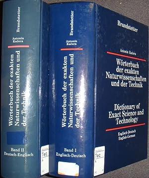 Wörterbuch der exakten Naturwissenschaften und der Technik/ Dictionary of exact science and ...
