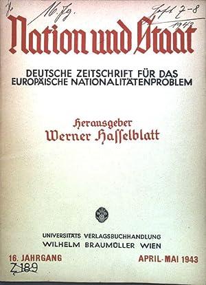 """Der Begriff der """"Deutschstämmigkeit""""; in: Heft 7/8: Arndt, Jürgen und"""