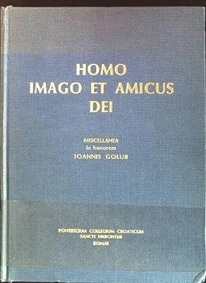 Homo imago et amicus dei Collectanea Croatico;: Peric, Ratko [Ed.]: