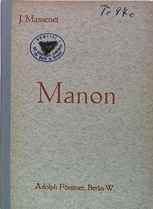 Manon: Oper in vier Akten und sechs: Meilhac, Henri und