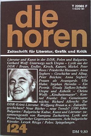 Das Gedicht unterwegs nach Utopia-Lyrik aus der: Wolf, Gerhard: