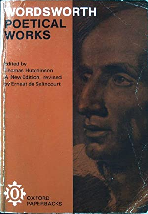 Wordsworth. Poetical Works. With Introductions and Notes.: Hutchinson, Thomas (Ed.):