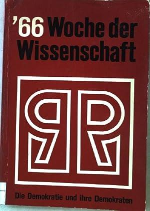 Die Demokratie und ihre Demokraten. Protokollarische Berichte. Ruhrfestspiele Recklingshausen. ...