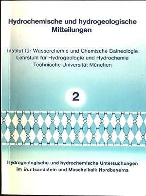 Hydrogeologische und hydrochemische Untersuchungen in Buntsandstein und: März, Klaus: