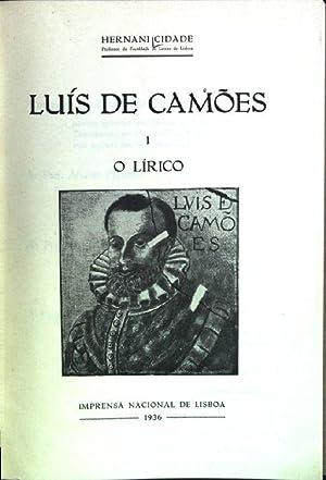 Luis de Camoes; 1: O lirico: Cidade, Hernani: