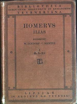 Homerus Ilias; 1 - IL: I-XII Biblioteca: Dindorf, W. [Ed.]