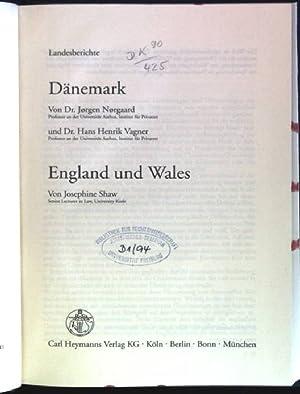 Landesberichte: Dänemark / England und Wales Deliktsrecht: Norgaard, Jorgen, Hans