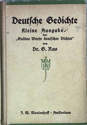 Goldne Worte Deutsche Dichter Abebooks