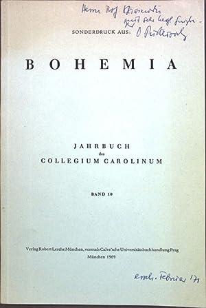Der Feburar 1948 in der Tschechoslowakei; (SIGNIERTES EXEMPLAR); Sonderdruck aus: Bohemia, Jahrbuch...