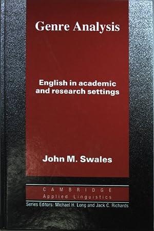 John M Swales
