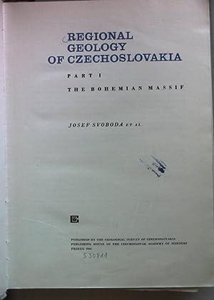 Regional Geology of Czechoslovakia: Part I: The: Svoboda, Josef: