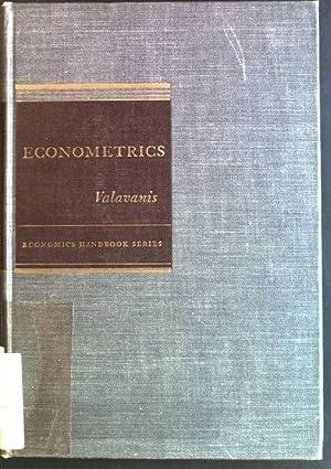 Econometrics: an introduction to maximum likelihood methods: Valavanis, Stefan: