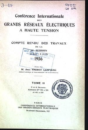 Conference internationale des grands reseaux electriques a: Tribot-Laspiere, Jean:
