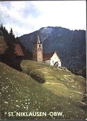 St. Niklausen Kanton Obwalden, Schweiz. Kunstführer Nr.