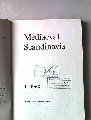 Mediaeval Scandinavia. A journal devoted to the: Bekker-Nielsen, Hans, Peter