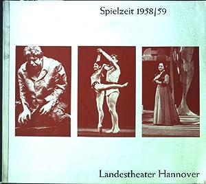 Landestheater Hannover: Spielzeit 1958-59: Volksbühne Hannover [Hrsg.]: